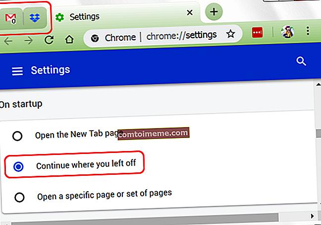 Correction: le navigateur Chrome ouvre deux onglets