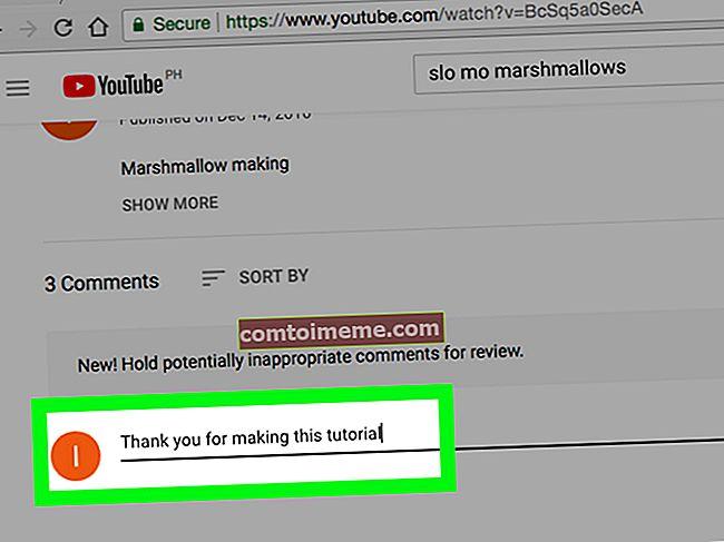 Åtgärd: YouTube-kommentaren kunde inte postas