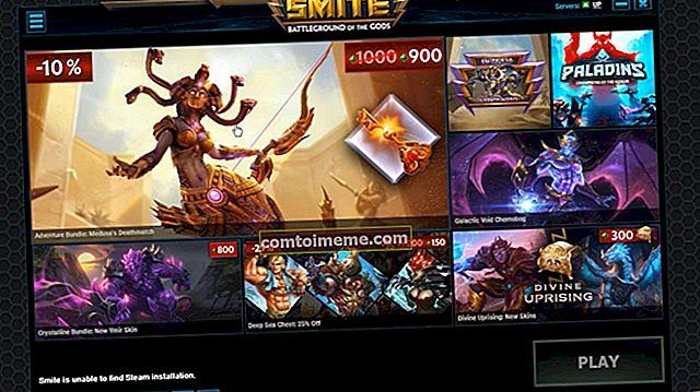 Fix: SMITE kan inte hitta Steam-installation
