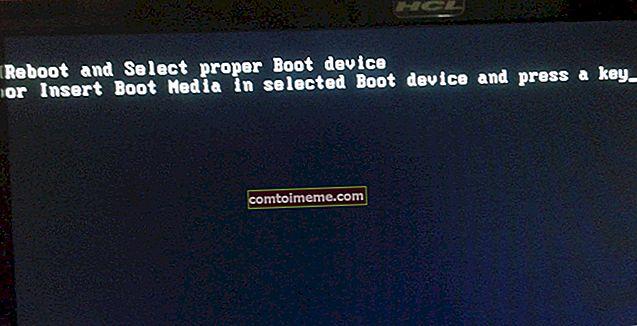 Correction: le périphérique de démarrage sélectionné a échoué Windows 10