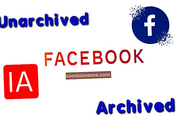 Comment désarchiver les messages sur Facebook