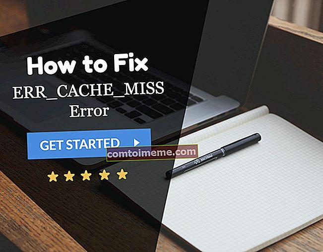 Correction: ERR_CACHE_MISS