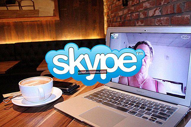 Correction: Skype se fermant
