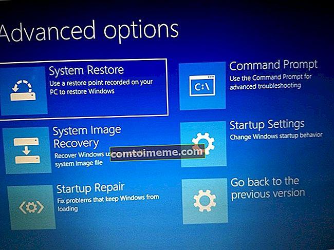 Correction: les paramètres du micrologiciel UEFI manquants dans Windows 10